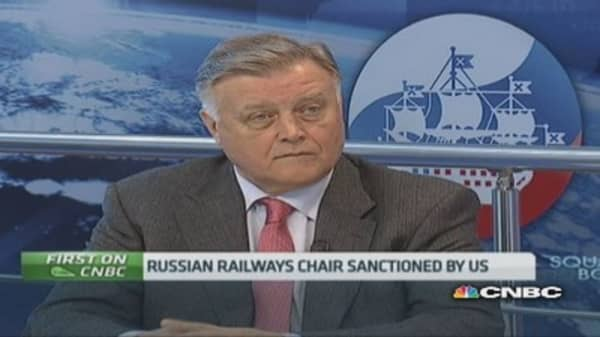 Sanctions are a 'quarrel in the kitchen': Russian exec
