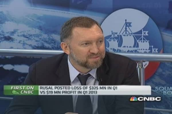 Cost of capital for Russian firms a 'key issue': Rusal CEO