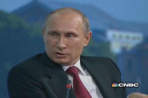 Sanctions on Russia are 'illegal': Putin