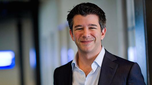 Travis Kalanick, co-founder and CEO of Uber Technologies
