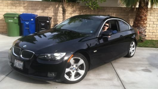Facebook Newswire posted this picture of a black BMW with the license plate 6ELX898, which it said was photographed on the scene of drive-by shootings in Santa Barbara on May 23.