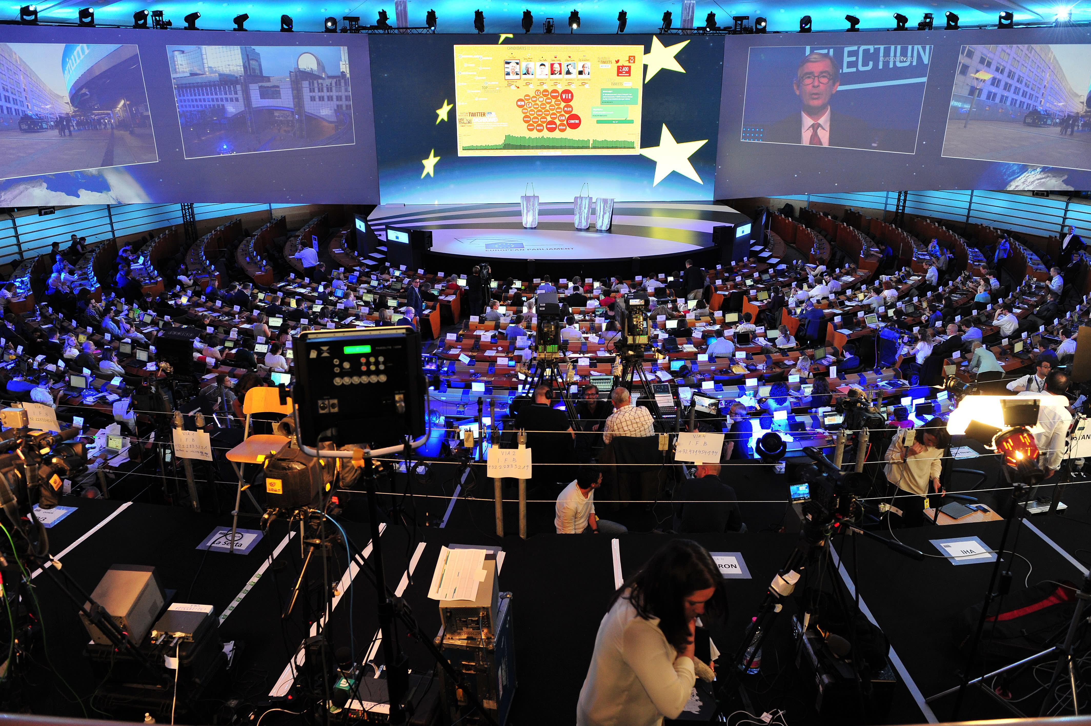 Vote for EU Parliament has no market message