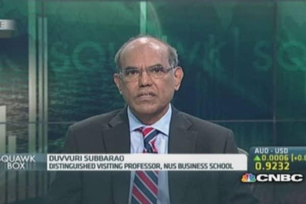 Ex-RBI governor: More spending is a no-go for India