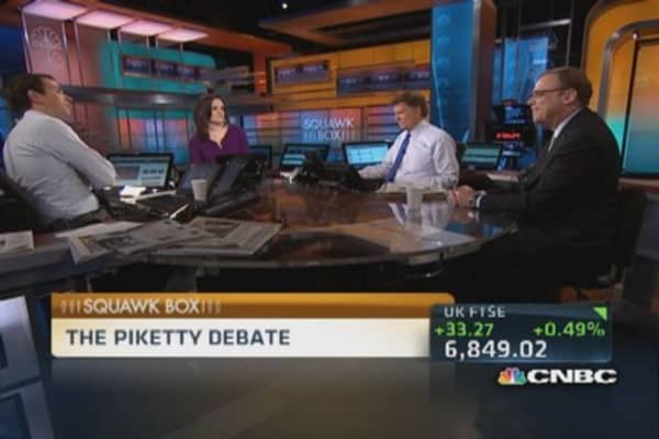 The Piketty debate