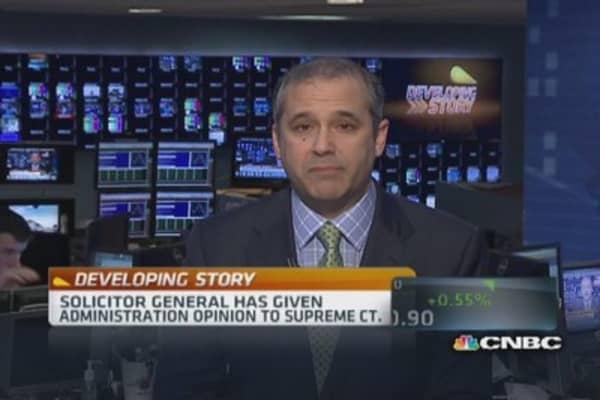 Obama administration backs banks in Madoff dispute