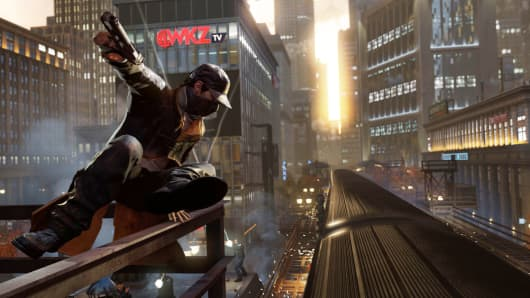 Watch Dogs video game still