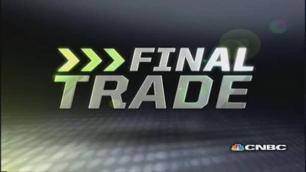 FMHR Final Trade: AXP, AMAT, S & AET