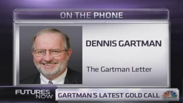 Why Gartman is bearish gold