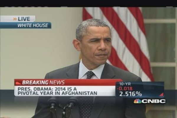 President Obama: War in Afghanistan will end this year
