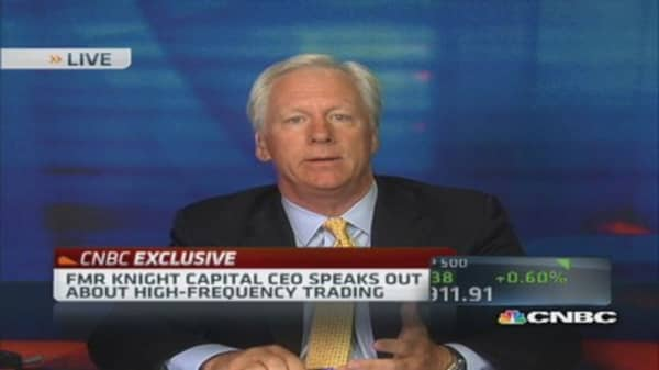Knight Capital CEO: Michael Lewis 'dead wrong'