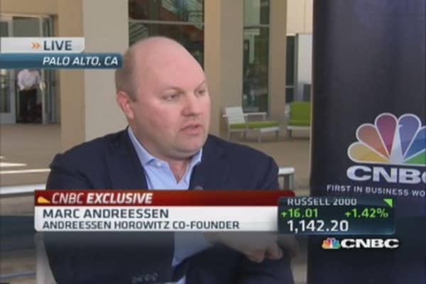 Marc Andreessen: Bitcoin long-term investment