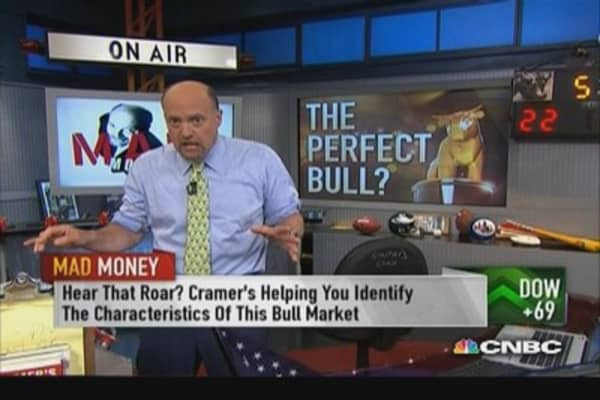 Bull market not to be trifled with: Cramer