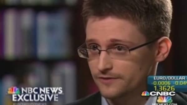 Snowden: I was trained as a spy
