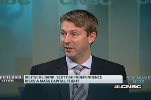 Scottish independence: The potential outcomes