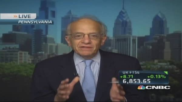 Why stocks are cheap: Siegel