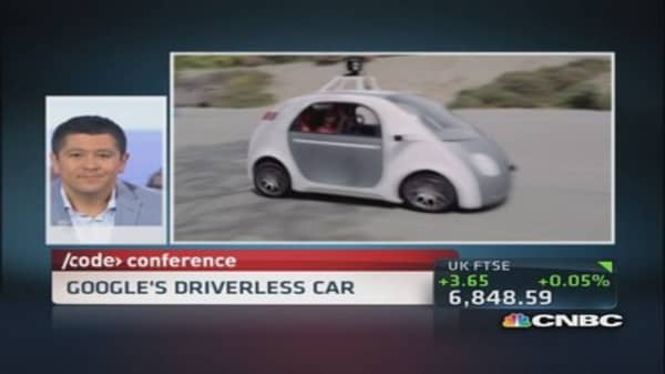 Future of Google's driverless car