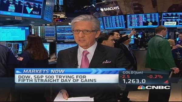 Pisani says 'more cyclical tone' to market