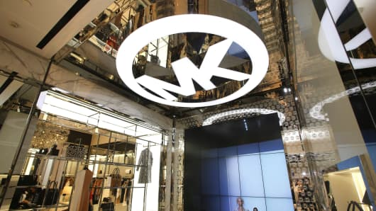 The Michael Kors Kerry Centre Flagship Store in Shanghai.
