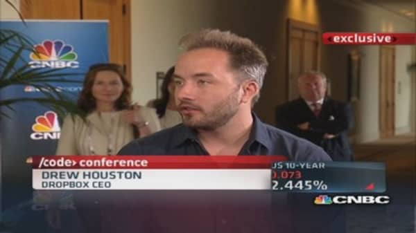 Dropbox CEO: Millions of businesses using our product