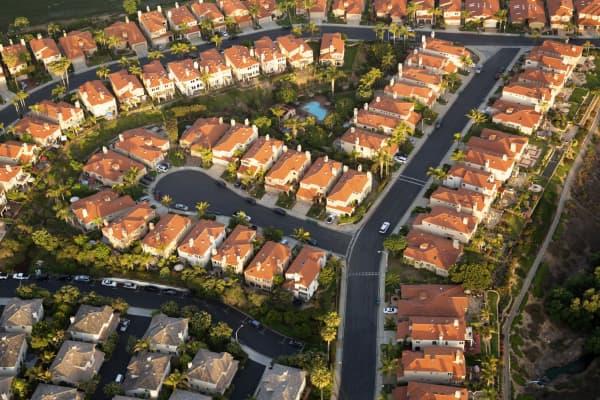 Suburbs of San Diego, Calif.