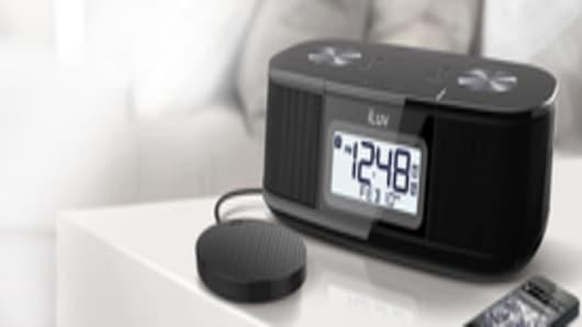 iLuv TimeShaker Micro Bluetooth Alarm Clock