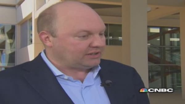 Marc Andreessen lists his top 3 tech trends to watch