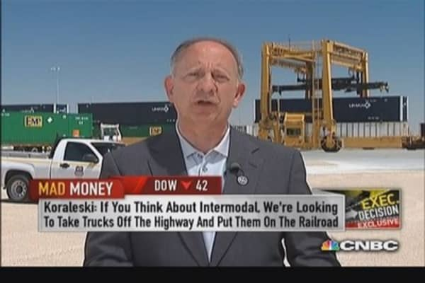 Union Pacific CEO: Santa Teresa is future of company