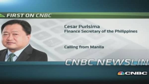 Purisima: 'Comfortable' with Philippines Q1 GDP