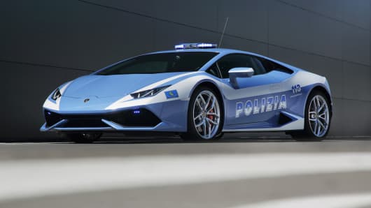 The Italian police adds a Lamborghini Huracán LP 610-4 to it's force.