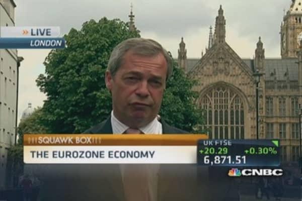 EU's social market model is not working: Farage