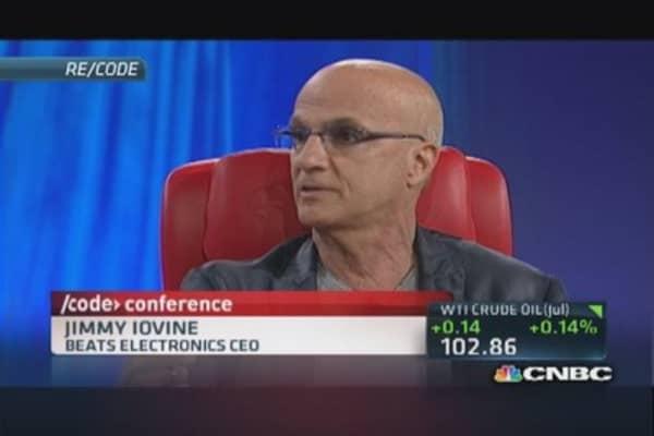 Iovine on Apple, Beats deal