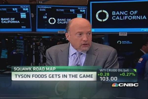 Cramer: Many reasons to own Tyson