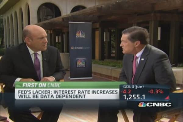 Fed's Lacker evaluates crisis lending