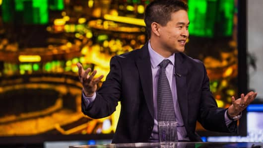 Brad Katsuyama, chief executive officer of IEX Group