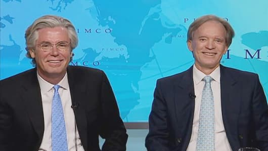 Paul McCulley and Bill Gross.
