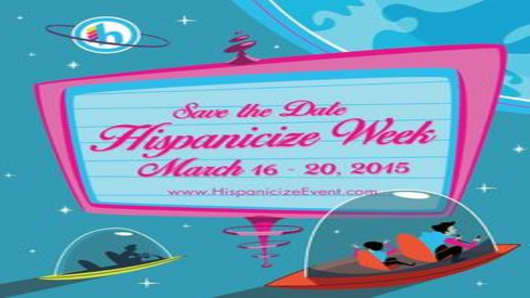 Hispanicize Week 2015 logo