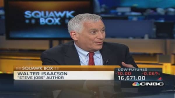 Steve Jobs would have done Apple-Beats deal: Isaacson