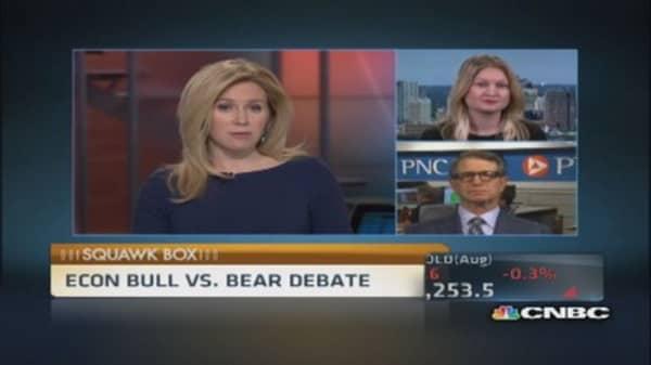 Bull vs. bear debate on the economy
