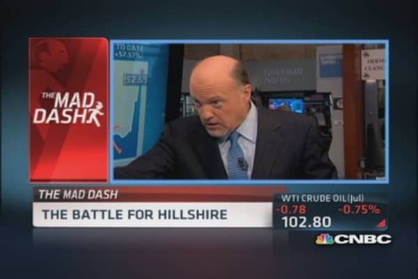 Cramer's Mad Dash: Battle for Hillshire
