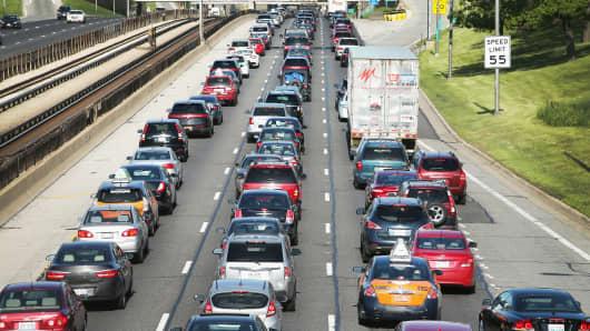 Traffic freeway highway