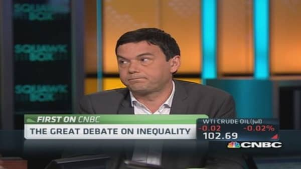 Piketty on income inequality