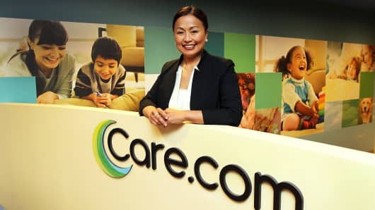 Sheila Marcelo, founder and CEO of Care.com. Over the past five years, the online marketplace has grown from 500,000 to 9.7 million members worldwide.