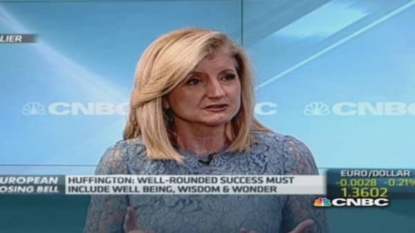 How to avoid a burn out: Arianna Huffington