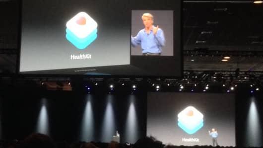 Apple announces Healthkit for iOS 8.