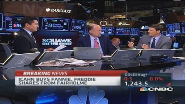 Icahn buys Fannie, Freddie shares: Report