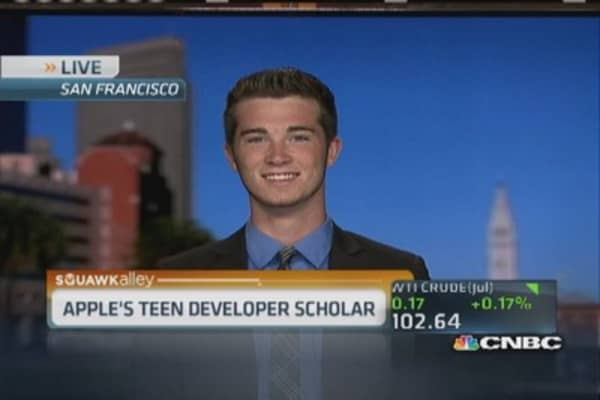 Teenage Apple developer changes lives