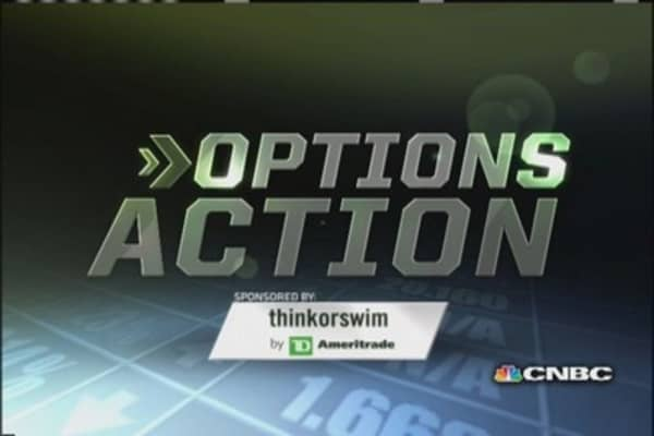 Options Action: New highs ahead for Apple?