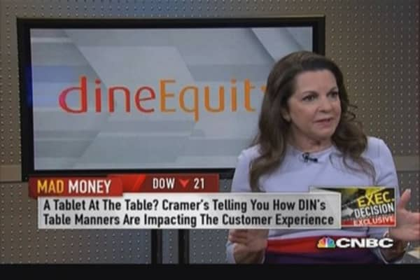 DineEquity CEO: Pay-at-table technology