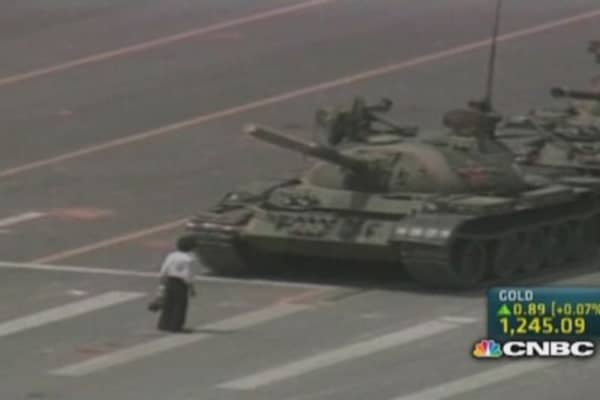 The lingering impact of Tiananmen Square