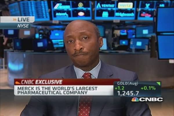 Merck CEO: We're proud to be American